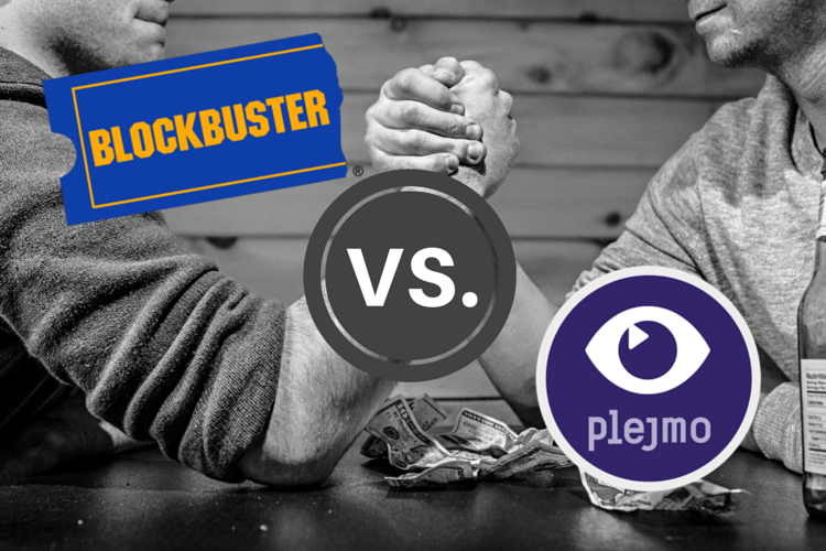 Blockbuster vs Plejmo