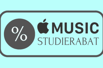 Apple Music studierabat