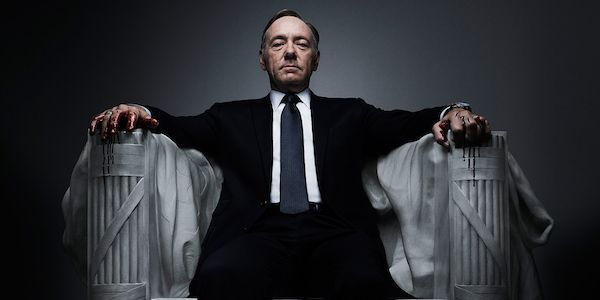 House of Cards serie på Netflix