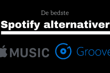 Spotify alternativer