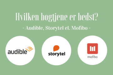 Audible eller Storytel eller Mofibo