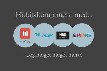 Telmore Play med gratis Mofibo, HBO, TV2 Play og C More